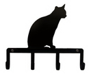 Village Wrought Iron KH-246 Cat Sitting - Key Holder