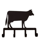 Village Wrought Iron KH-5 Cow - Key Holder