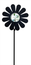 Village Wrought Iron MGS-95 Flower - Marble Garden Stake