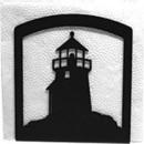 Village Wrought Iron NH-10 Lighthouse - Napkin Holder
