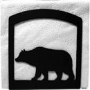 Village Wrought Iron NH-14 Bear - Napkin Holder