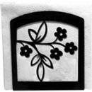 Village Wrought Iron NH-164 Floral - Napkin Holder