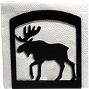 Village Wrought Iron NH-19 Moose - Napkin Holder