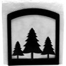 Village Wrought Iron NH-20 Pine Trees - Napkin Holder