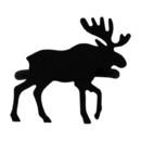 Village Wrought Iron NR-19 Moose - Napkin Ring