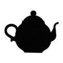 Village Wrought Iron NR-70 Teapot - Napkin Ring