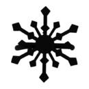 Village Wrought Iron NR-85 Snowflake - Napkin Ring