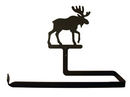 Village Wrought Iron PT-B-19 Moose - Paper Towel Holder Horizontal Wall Mount