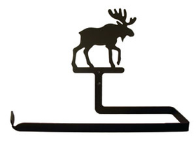 Village Wrought Iron PT-B-19 Moose, Paper Towel Holder Horizontal Wall Mount, Price/Each