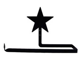 Village Wrought Iron PT-B-45 Star Paper, Paper Towel Holder Horizontal Wall Mount, Price/Each
