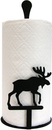 Village Wrought Iron PT-C-19 Moose - Paper Towel Stand