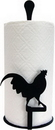 Village Wrought Iron PT-C-1 Rooster - Paper Towel Stand