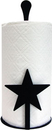 Village Wrought Iron PT-C-45 Star - Paper Towel Stand