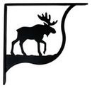 Village Wrought Iron SB-19-S Moose - Shelf Brackets Small
