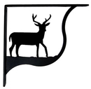 Village Wrought Iron SB-3-L Deer - Shelf Brackets Large
