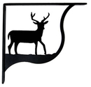 Village Wrought Iron SB-3-M Deer - Shelf Brackets Medium