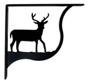 Village Wrought Iron SB-3-S Deer - Shelf Brackets Small