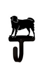 Village Wrought Iron WH-105-S Dog - Wall Hook Small