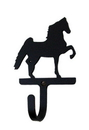 Village Wrought Iron WH-129-S Saddlebred - Wall Hook Small
