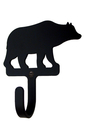 Village Wrought Iron WH-14-S Bear - Wall Hook Small
