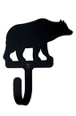 Village Wrought Iron WH-14-XS Bear - Wall Hook Extra Small