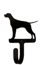 Village Wrought Iron WH-243-S Pointer - Wall Hook Small