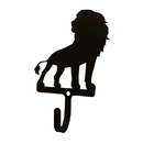 Village Wrought Iron WH-278-S Lion-Wall Hook Sm.
