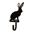 Village Wrought Iron WH-279-S Jack Rabbit - Wall Hook Sm.