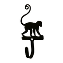 Village Wrought Iron WH-281-S Monkey- Wall Hook Sm.