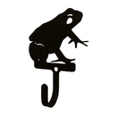 Village Wrought Iron WH-282-S Frog - Wall Hook Sm.