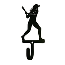 Village Wrought Iron WH-290-S Softball - Woman's / Girl's - Wall Hook Small