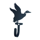 Village Wrought Iron WH-291-S Duck - Wall Hook Small