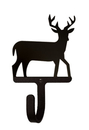 Village Wrought Iron WH-3-S Deer - Wall Hook Small