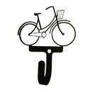 Village Wrought Iron WH-301-S Bicycle - Woman's / Girl's - Wall Hook Small