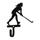 Village Wrought Iron WH-316-S Field Hockey - Woman's / Girl's - Wall Hook Small