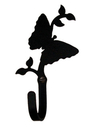 Village Wrought Iron WH-38-S Butterfly - Wall Hook Small