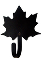 Village Wrought Iron WH-40-XS Maple Leaf - Wall Hook Extra Small