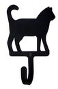 Village Wrought Iron WH-6-S Cat - Wall Hook Small