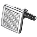 Caseti Maze Stainless Steel Cuff Links