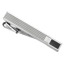 Caseti Clayworth Stainless Steel and Black Onyx Tie Bar