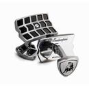 Tonino Lamborghini Impronta Black Lacquer Cufflinks