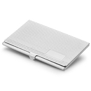 Berger Silver Plated Business Card Case
