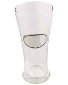 Visol Kendall Pilsner Glass with Pewter Engraving Plate