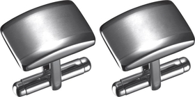 Visol Fidel Stainless Steel Engravable Cufflinks, Price/Pair