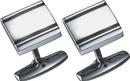 Visol Pallas Stainless Steel Engravable Cufflinks