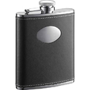 Visol Eclipse Leather 6-oz. Groomsmen Flask