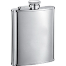 Visol Edge Stainless Steel 6 oz Hip Flask - 6 oz