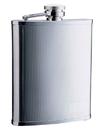 Visol Cyclops Barley Pattern Stainless Steel Hip Flask - 18 oz