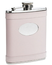 Visol Satisfaction Pink Leather 6oz Flask