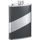 Visol Descent Black Leather 8-oz. Flask